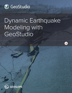 Dynamic Earthquake Modeling with GeoStudio