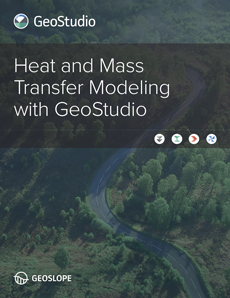 Heat and Mass Transfer Modeling with GeoStudio